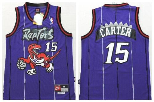 Purple Throwback Youth Stitched NBA Jersey